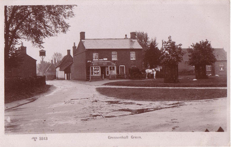 Gressenhall Post Office c 1909