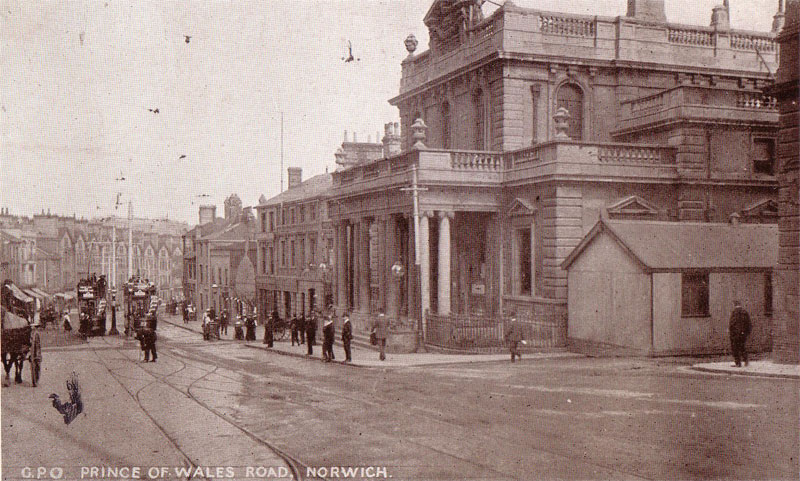 Another view of Norwich GPO