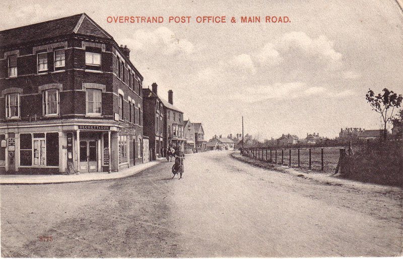 Overstrand Post Office c. 1908