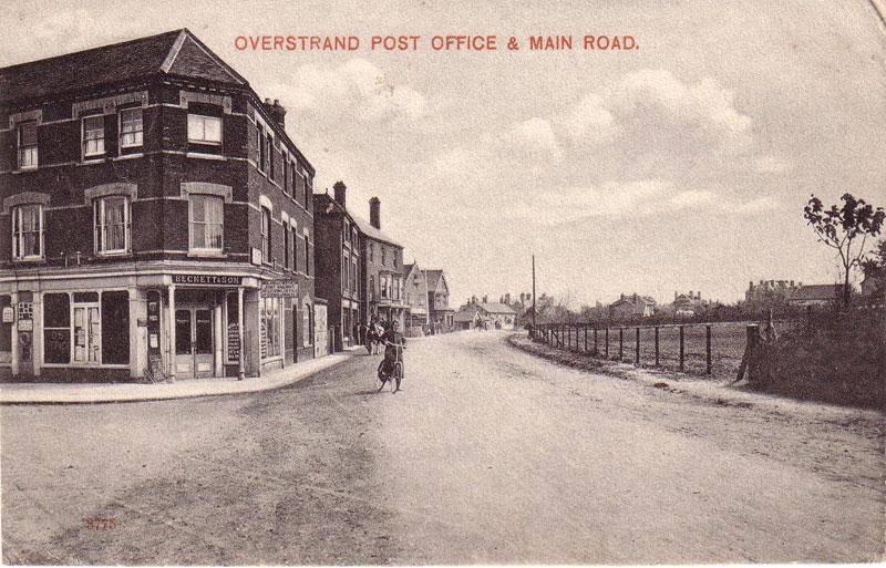 Overstrand Post Office c. 1908