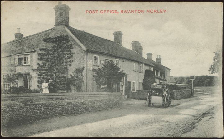Swanton Morley Post Office c. 1907