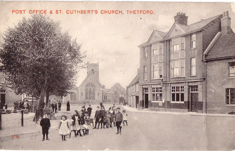 Thetford Post Office 1900s