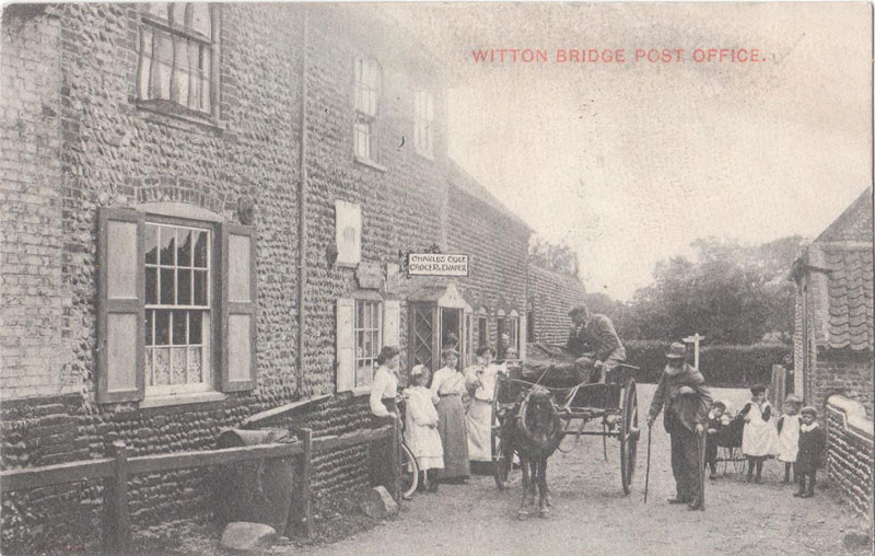 Witton Bridge Post Office c. 1910