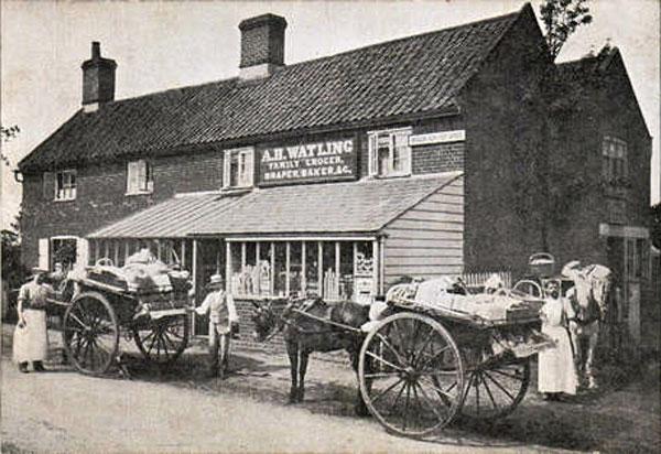 Bracon Ash Old Post Office