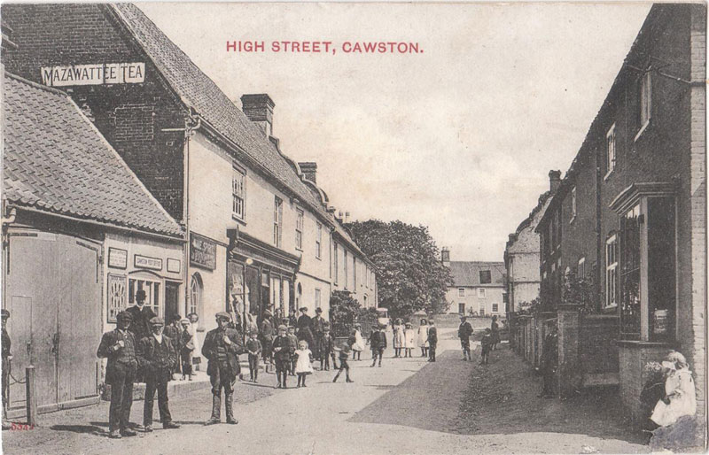 Cawston Post Office, early 1900s