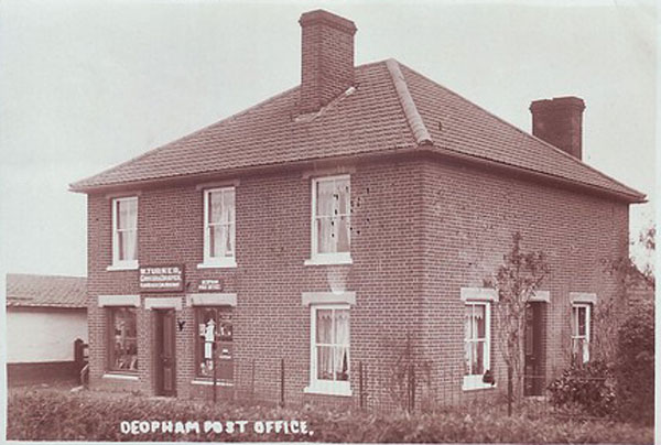 Deopham Old Post Office, c. 1910
