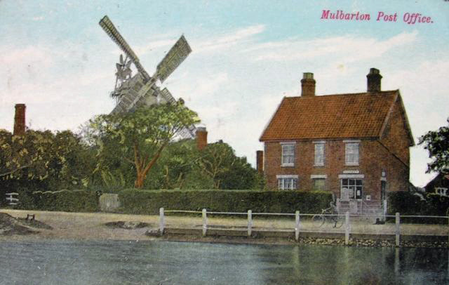 Mulbarton Old Post Office c. 1907