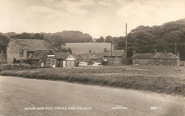 Hunworth Post Office, 1960s