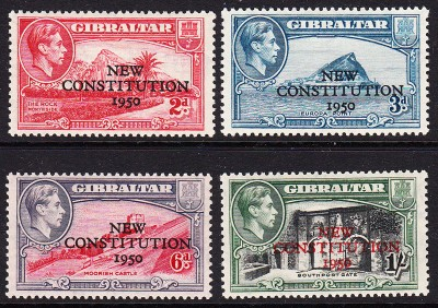 Gibraltar New Constitution 1950