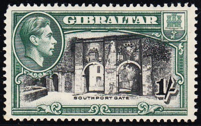 Gibraltar SG 127a
