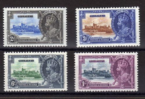 Gibraltar KGV Silver Jubilee 1935