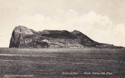 Rock of Gibraltar view