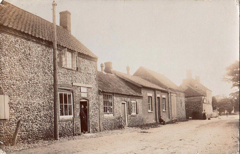 Rougham Post Office c 1908