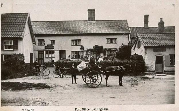 Saxlingham Nethergate Post Office i