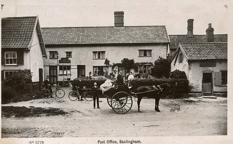 Saxlingham Nethergate Post Office i
