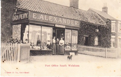 South Walsham Post Office c 1906