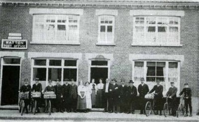 Watton Post Office i c 1912
