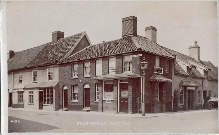 Watton Post Office ii c 1915