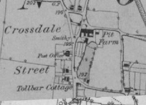 OS map 1st edition