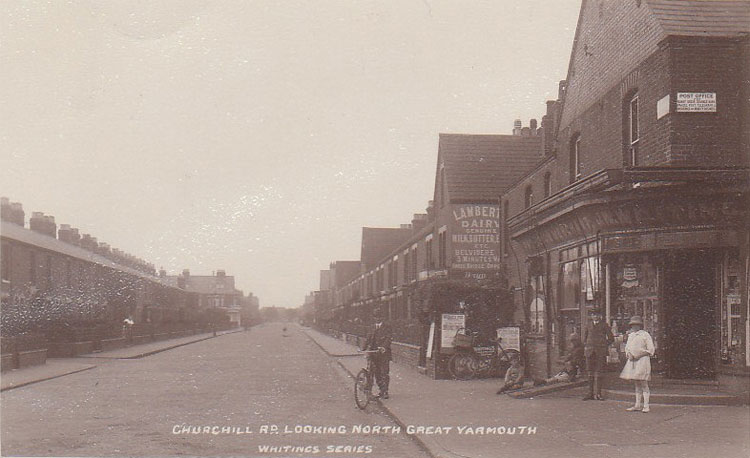Great Yarmouth Old Post Office Churchill Road