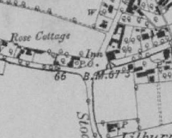 Blofield Old Post Office OS Map