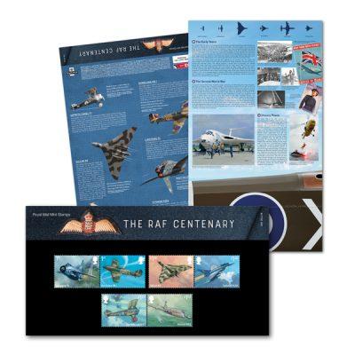 RM RAF Centenary Presentation Pack