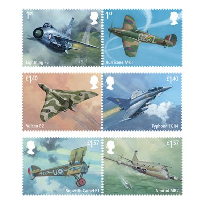 RAF Centenary Stamp Set