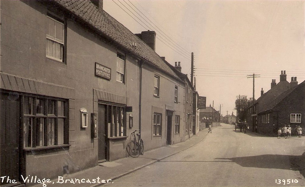 Brancaster Post Office Early 1900s